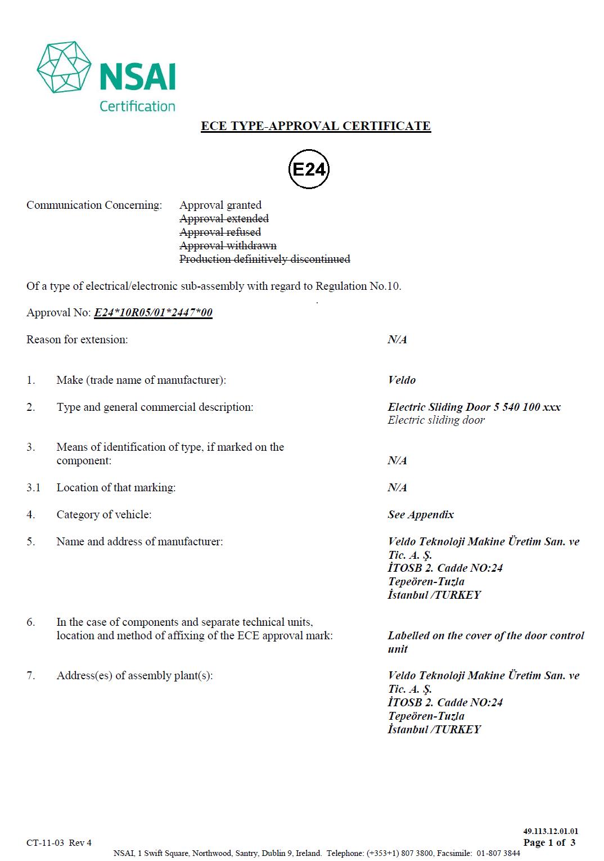 Kapi-Approval-Certificate